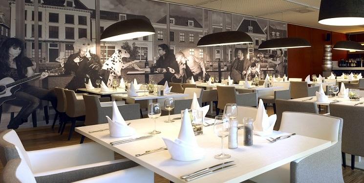 Fotobehang theatercafe castellum - Behang voor restaurant ...