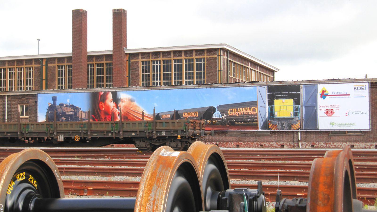 Spandoekdrukken railpark